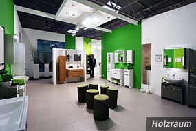 Foto MOW 2014 - Messestand Holzraum